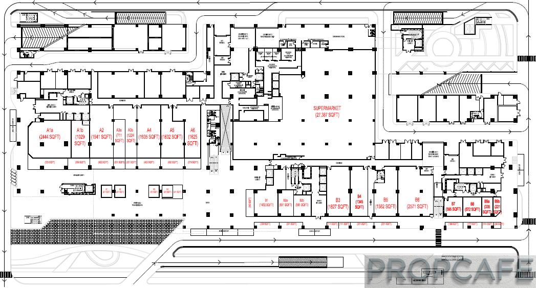 Utropolis Marketplace Glenmarie Layout Ground Floor