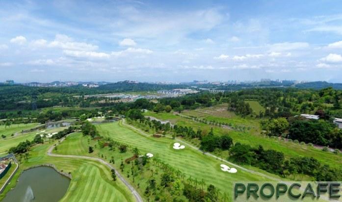 IOI Resort City Golf Putrajaya View
