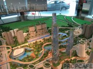 Bandar malaysia Scale model-Central Park
