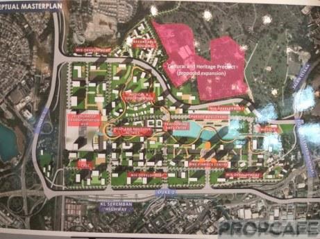 Bandar malaysia masterplan
