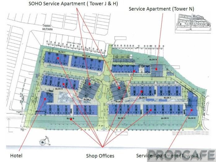 EkoCheras Original Overall Development Plan [Old Plan Before Amendment]