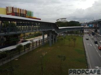 Elevated Covered Pedestrian Walkway Interconnecting EkoCheras - Leisure Mall - Taman Segar - MRT Taman Mutiara