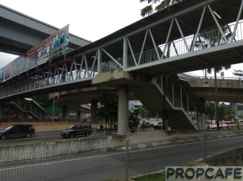 Elevated Covered Pedestrian Walkway Interconnecting EkoCheras - Leisure Mall - Taman Segar - MRT Taman Mutiara