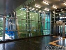 Entrance of Leisure Mall Cheras – MRT Link Bridge