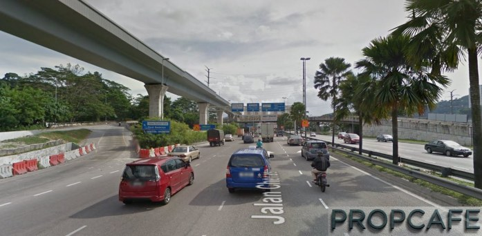 U-Turn Ramp to EkoCheras (From KL to Cheras Direction)