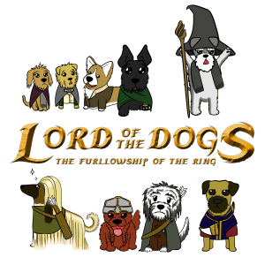 Lord of the Dogs - Furllowship of the Ring