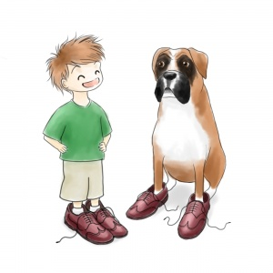 Boxer in Brogues
