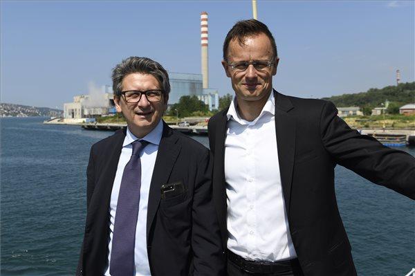 Újra lett tengeri kikötőnk – Magyarország egy 300 méteres partszakaszt vett az olaszoktól 31 millió euróért