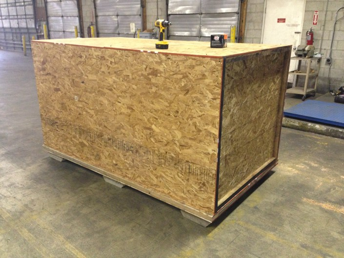 building crate for shipping