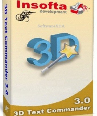 Insofta 3D Text Commander 5.1.0 with Key Free Download