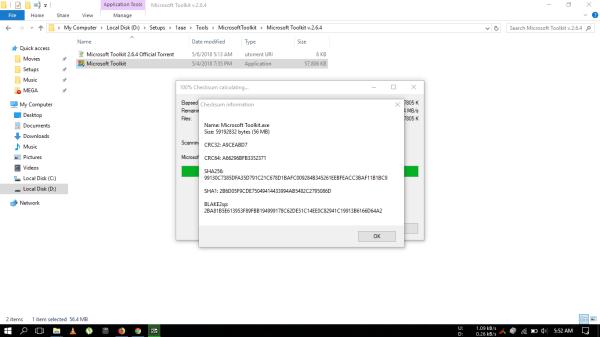 Microsoft Toolkit 2.6.8 Activator