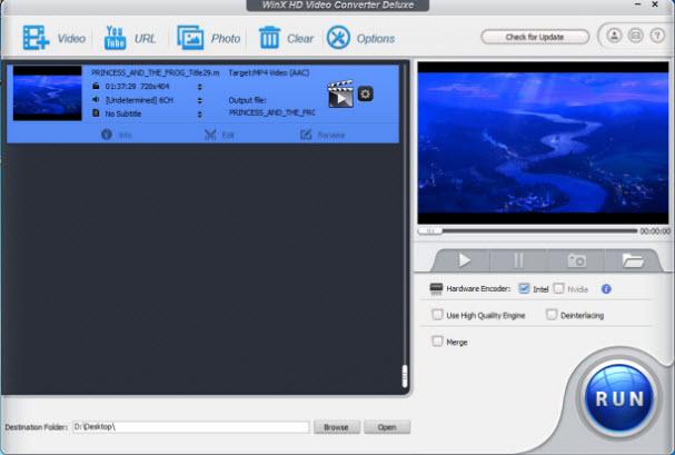 WinX HD Video Converter Deluxe 5.15.5