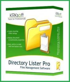 Directory Lister Enterprise 2.39 Cover