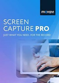 Movavi Screen Capture Pro 10.1.0 Cover