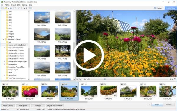 PicturesToExe Deluxe 9.0.22 Patch Screenshot 1