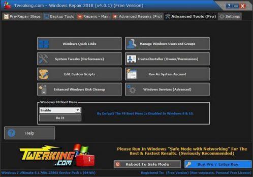 Windows Repair Pro 4.7.0 Screenshot 1