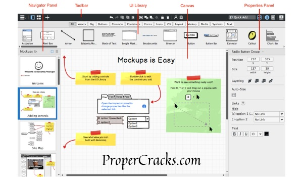 Balsamiq Mockups Crack + License Key [2021] Download