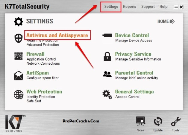 K7 Total Security 2021 Download