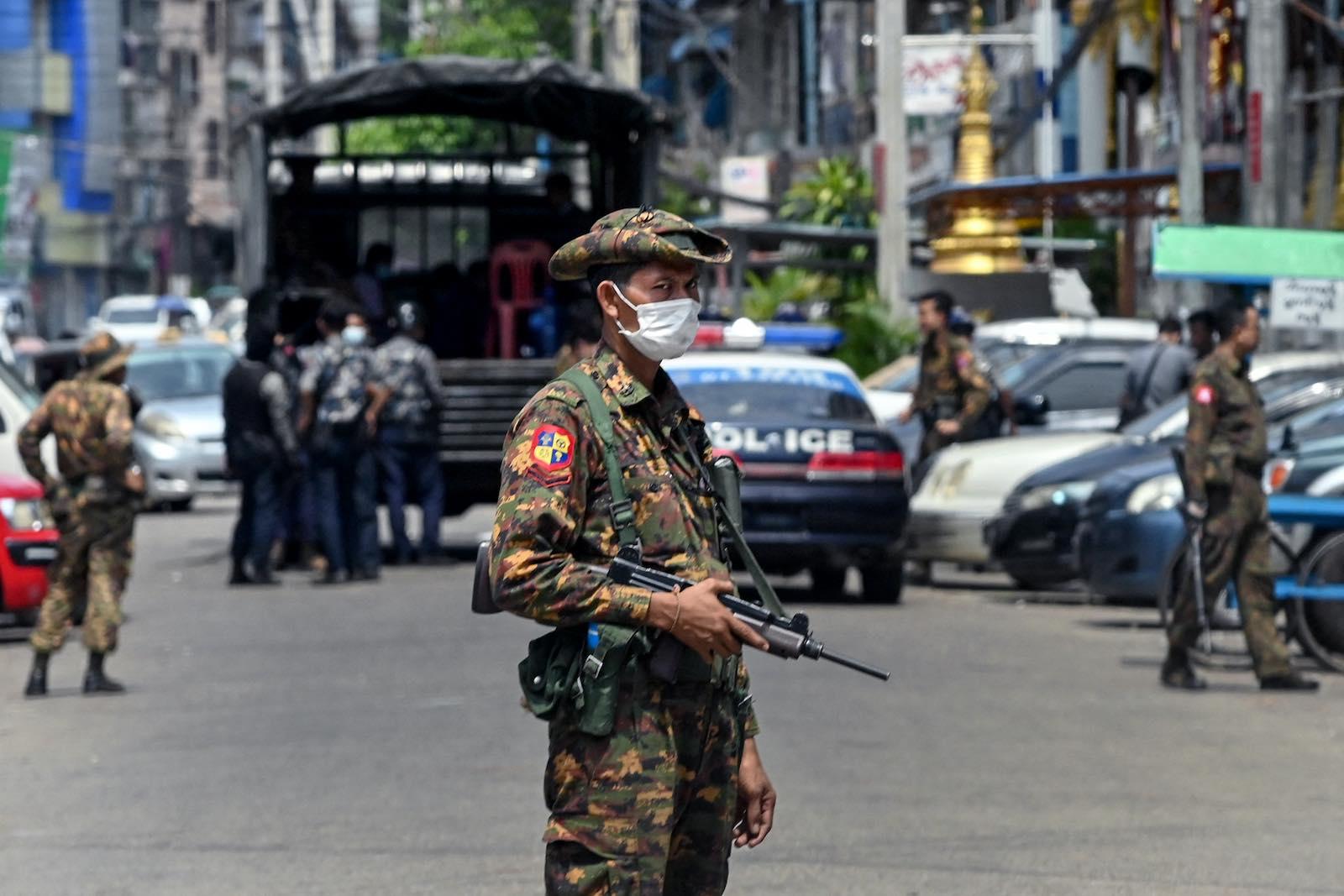 MYANMAR POLITICS MILITARY