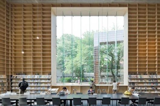 Библиотека университета искусств Мусасино