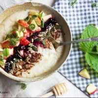 porridge breakfast bowl