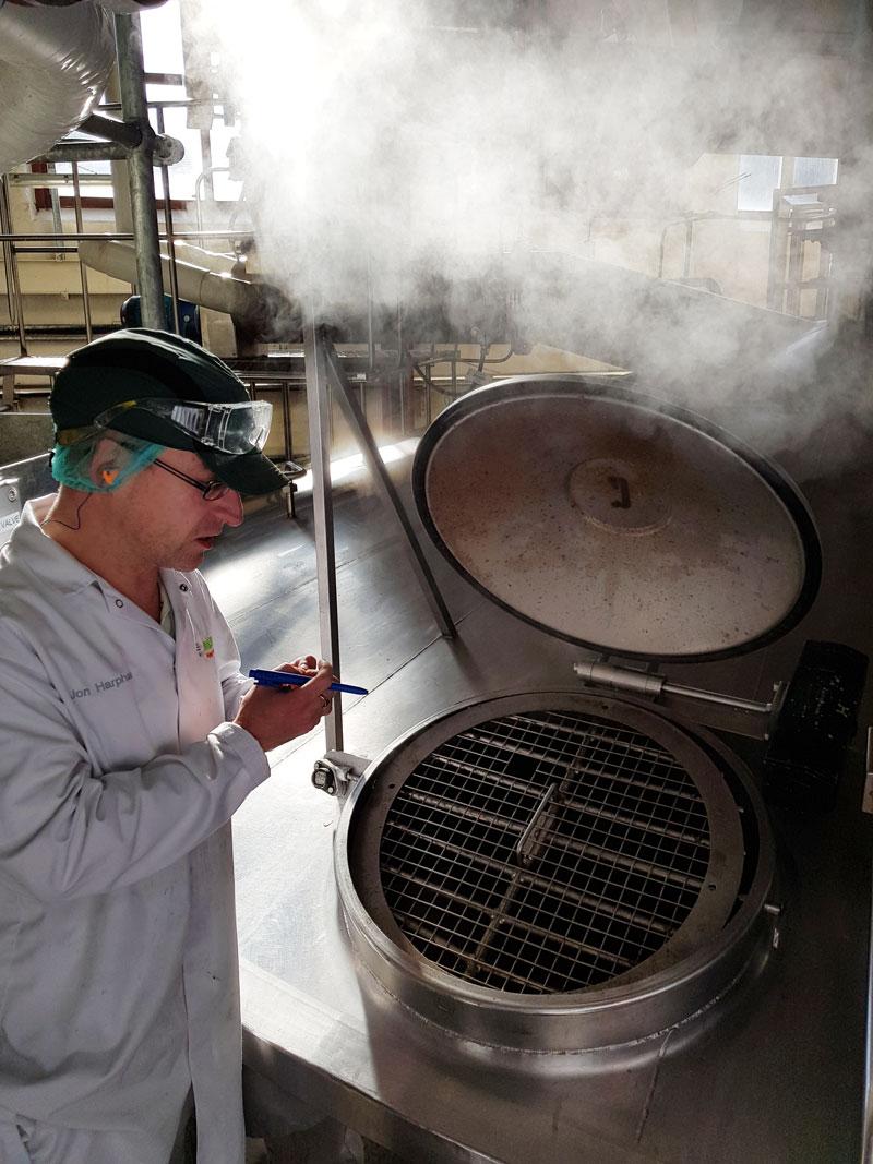 making sarsons vinegar