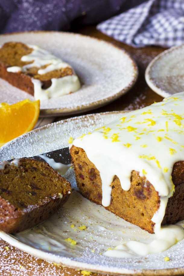 Easter almond carrot cake