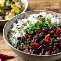 cuban black bean rice