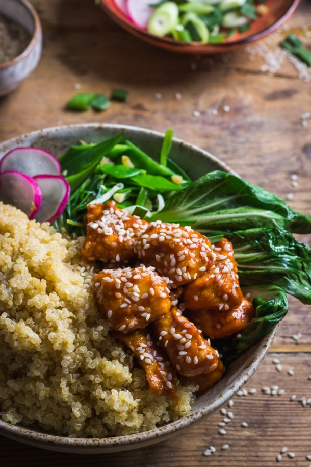 sesame seed chicken recipe