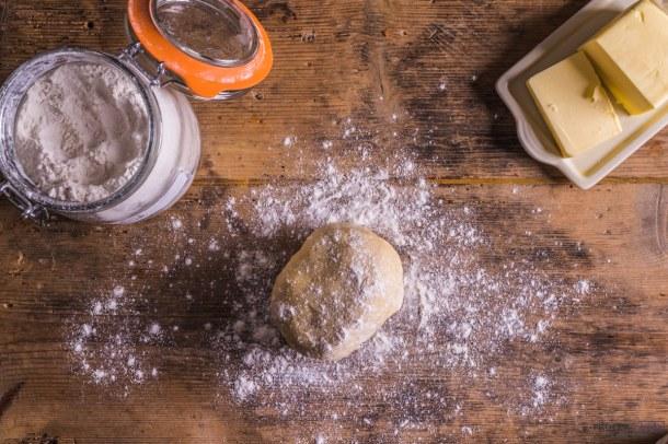 homemade sweet shortcrust pastry