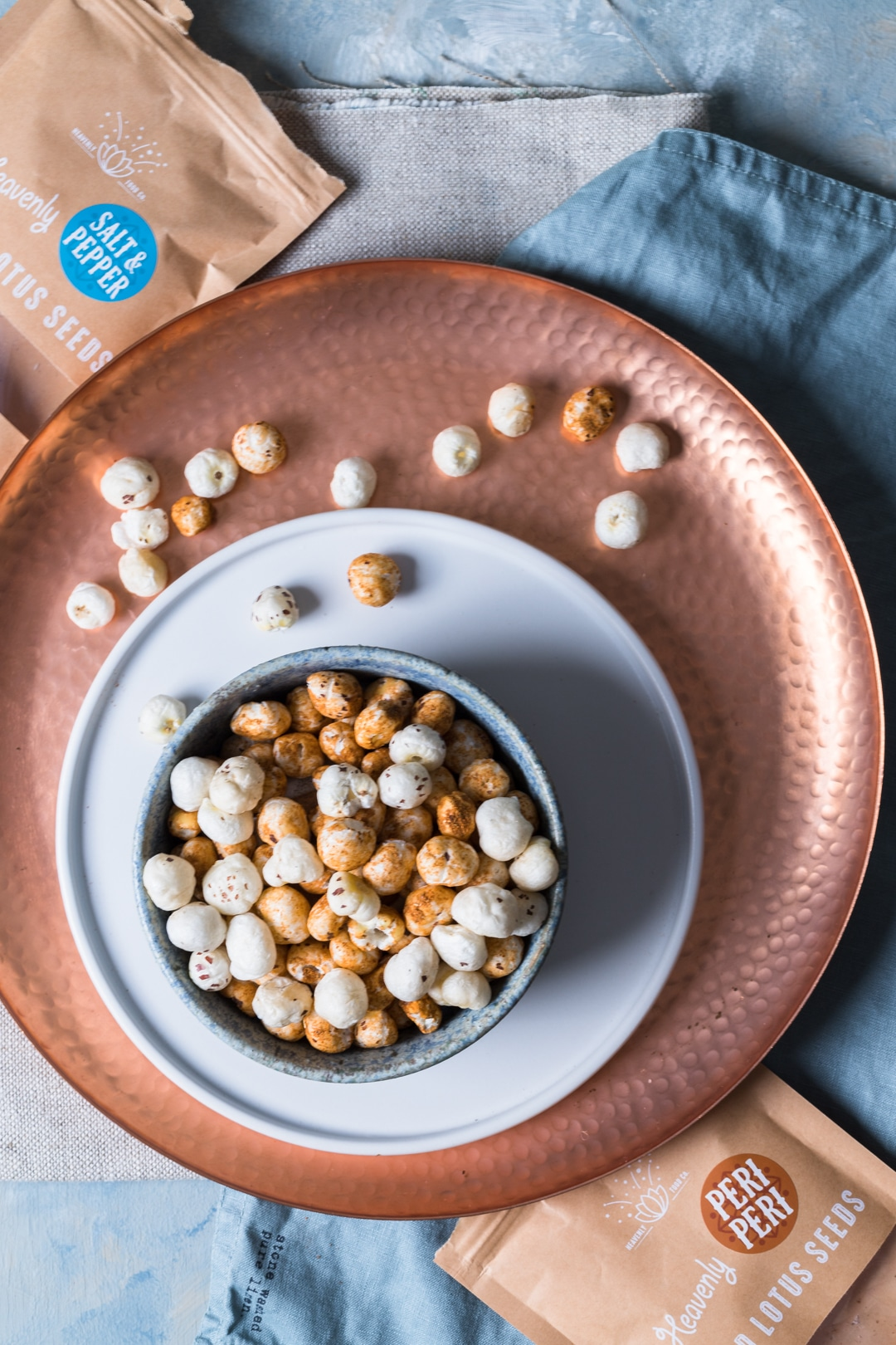Image for Heavenly Food Company salt and pepper popped lotus seed