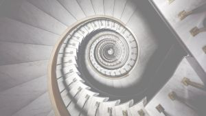 Image of spiral staircase