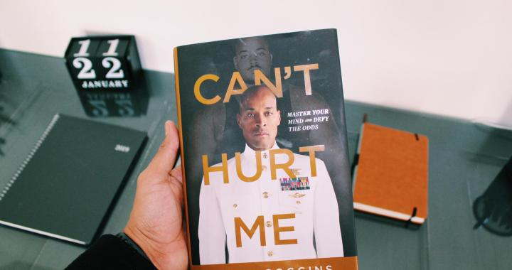 A Book Review: Embracing the Suck in 'Can't Hurt Me'