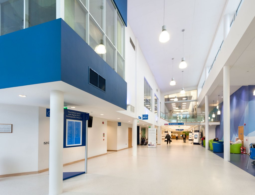 Commercial Property Photography - Hospital Entrance