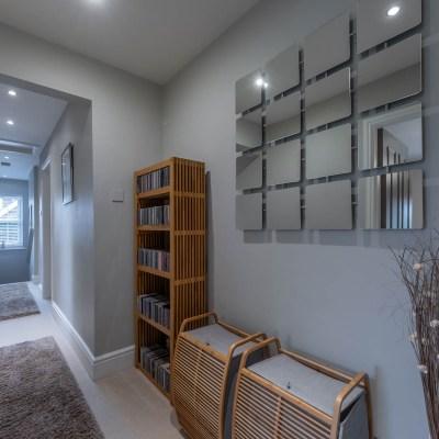 Extended modern home