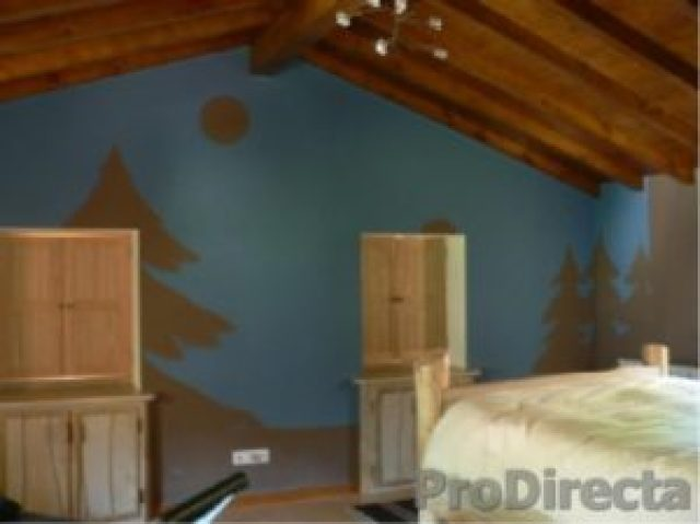 Master Bedroom – 3 Built-in Bureaus. Custom Made Wood Shutters on 5 Windows