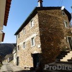 Large villa built schist stone