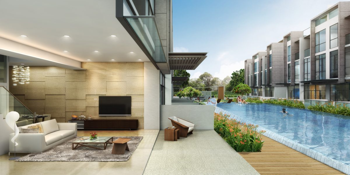 Freehold Strata Semi-D/Terrace In Ang