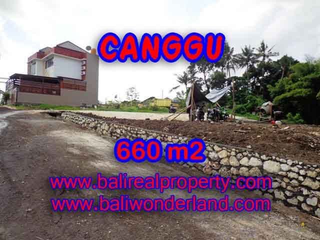 Exceptional Property in Bali, land for sale in Canggu Bali – TJCG149