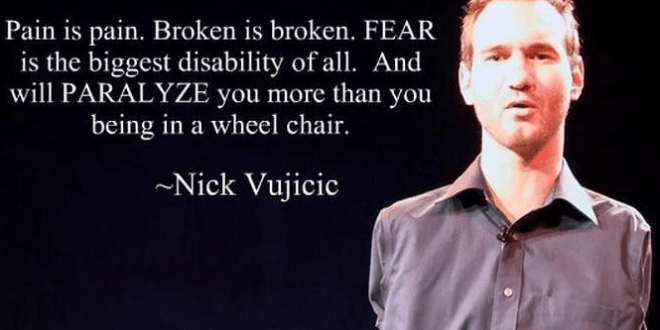 Nick Vujicic Quote On Property Investment Singapore Blog