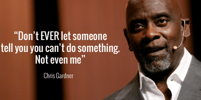 Chris Gardner Quote On Property Investment Singapore Blog