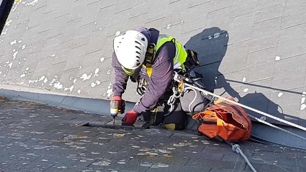 slated roof repair