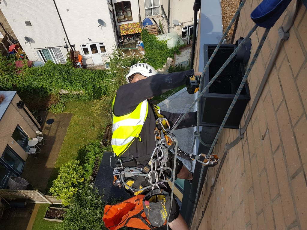 gutter and down pipe repairs