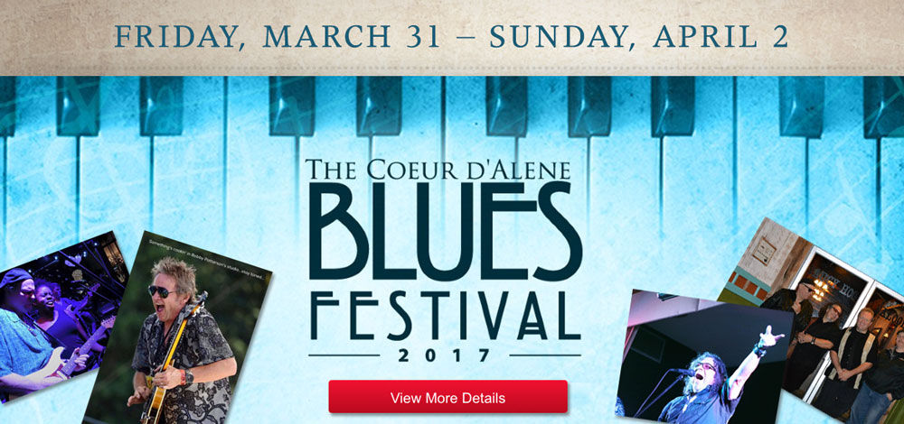 Blues festival of Coeur d'Alene is here!
