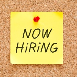 now hiring a certified property manager