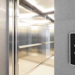 Elevator Cab Interior After Elevator Modernization
