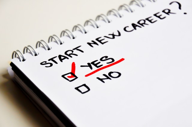 Start New Career On Note Pad With Checked Box How To Become A Property Manager Blog Image
