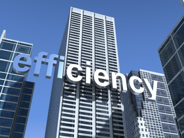 Efficiency Over Commercial Building Lowering a Commercial Property's Energy Use