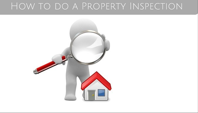how to do a property inspection