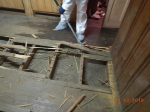 Removing Sewage Contamination